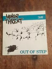 MINOR THREAT - OUT OF STEPS - AMERICAN HARDCORE PUNK - US PRESSINNG!!!