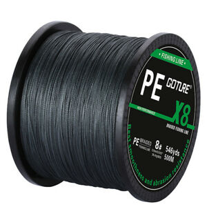 Goture 500M Braided Fishing Line 8 STRANDS Super Strong Saltwater Fishing Line