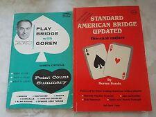 Vintage Standard American Bridge Updated / Play Bridge with Charles H. Goren