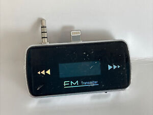 FM TRANSMITTER RADIO FOR APPLE IPHONE 5 6 & SE SEPARATE ATTACHMENT UNBRANDED