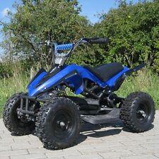 Elektro Quad Miniquad Kinder ATV Racer 800 W Pocketquad Kinderquad blau/schwarz