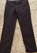 NWOT! Banana Republic Size 2P Maroon/Wine Sloan Fit Pants Trousers Ankle Length