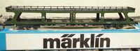 Märklin 4084 H0 Reisezug-Autotransportwagen DDm 915 grün der DB Epoche 4/5