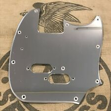 Used WD Mustang Bass Guitar Custom Pickguard Mirrored Finish