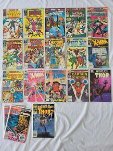 MARVEL COMICS LOT:  WHAT IF?   #1-9, 11-14, 37, 47  (1992)