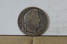 Monnaie france demi franc 50 centimes 1839 A louis philippe argent tordue