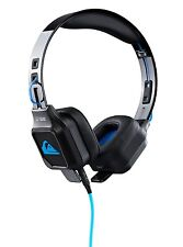 STUDIO DJ HEADPHONES NOISE ISOLATION QUIKSILVER QS-1 NEW BLACK BLUE EQYAA03013