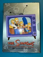 The Simpsons Complete 2nd Second Season 2 Two 4-DISC DVD SET Used Free Shipping