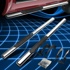 "Chrome Oval 4"" Side Step Nerf Bar/Rail for 1988-2000 Chevy/GMC C/K Truck Ext Cab"