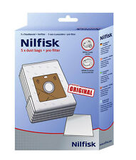 Nilfisk Coupe, One & Compact Genuine Vacuum Cleaner Hoover Dust Bags 78602600