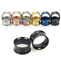 1Pcs Fashion Stainless Steel Tunnel Expander Stretcher Ear Plug Piercing Jewelry