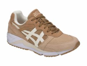 ASICS H838L.8700 GEL-LIQUE Mn´s (M) Latte/Cream Suede Running Shoes