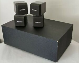 Bose Acoustimass 5 Series I Speaker System - 2x Double Cube speakers & Subwoofer