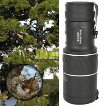 Day&Night Vision 40x60 HD Optical Monocular Telescope Outdoor Camping Hiking New