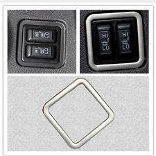 Mitsubishi Outlander Edelstahl Sitzheizung Schalter Blende Rahmen Cover