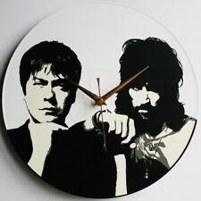 "Tom & Serge - Kasabian - 12"" Vinyl Record Clock"