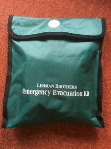 LEHMAN BROTHERS Emergency Evacuation Kit Wall Street stock market 2008 collapse