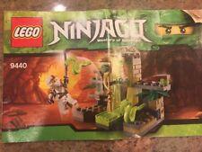 Lego Ninjago 9440 VENOMARI SHRINE White Ninja Zane ZX Minifigure Snakes COMPLETE