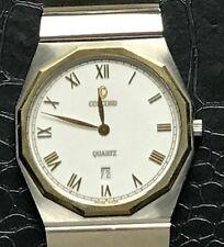 Concord 18K Gold Bezel Mariner S.G. Two-Tone Quartz Unisex Watch 15-21-117