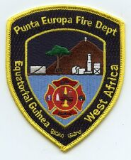 PUNTA EUROPA WEST AFRICA FIRE PATCH
