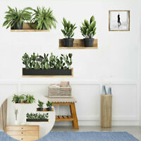 Wall Sticker Decal Plant Mural Living Room Green Leaf Art DIY Home Decor