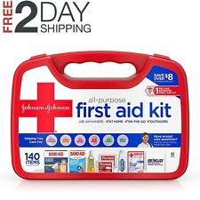 Red Cross ALL PURPOSE J & J FIRST AID KIT 140 Items