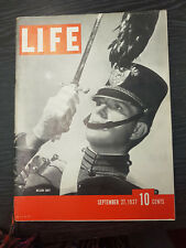 LIFE Magazine: Nelson Eddy- September 27, 1937