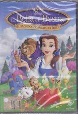 Dvd Disney **LA BELLA E LA BESTIA ♥ IL MONDO INCANTATO DI BELLE** nuovo 1998