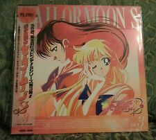 SAILOR MOON S vol. 3 LASER DISC LD ORIGINALE GIAPPONESE TOEI ANIME NTSC JAPAN