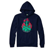 Gangsta Alien Hoodie, Alien UFO, Area 51, Gang Gift Top