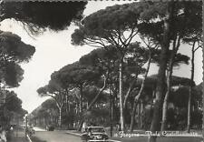 CARTOLINA VIAGGIATA 1952_ FREGENE - VIALE CASTELLAMARE _ AUTOMOBILI_DONATI DECIO