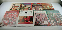Christmas Craft DIY Gifts Pattern Instruction Books - LOT of 11 Vintage
