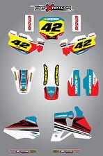 HONDA CR 80 1996 / 2002 - stickers Full Custom Graphic Kit STRIKE STYLE decals