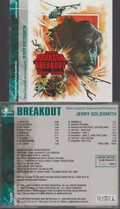 Breakout Cd Jerry Godlsmith OST Bande Originale Du Film Charles Bronson