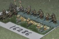 15mm WW1 / british - infantry & MGs 25 figures - inf (16286)