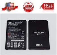 New OEM LG X Style Battery BL-41A1HB 2100mah LG tribute HD Original Genuine