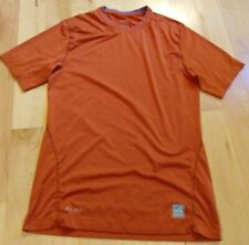 Nike Pro Men's Bronze Athletic Short Sleeve Shirt Size M