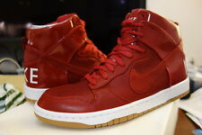 NIKE LAB DUNK HI PREMIUM LUX SP GYM RED OG UK9.5 US10.5 DS october racer