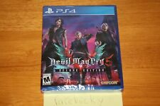 Devil May Cry 5 Deluxe Edition (Playstation 4 PS4) NEW SEALED MINT, RARE