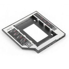 Adattatore per caddy per disco rigido SSD da 9,5 mm SATA 2nd HDD per DVD-ROM HO2