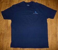 Men's Tommy Bahama, Photo Bombed, Parrot Navy Blue Short Sleeve T-Shirt, L
