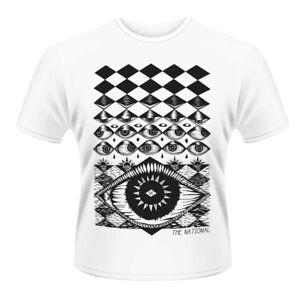THE NATIONAL- EYEBALL Official T Shirt Mens Licensed Merch New