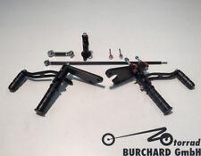 REPOSE-PIEDS 13 cm présenté Triumph Thunderbird B16BA Noir Mat avec ABE