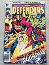 The Defenders #48 *What Is The Secret Of Scorpio?**Early Moon Knight Appearance*