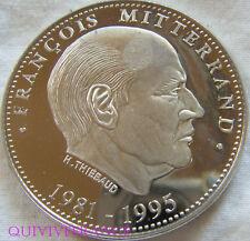 MED5344 - MEDAILLE FRANÇOIS MITTERAND 1981-1995  PRESIDENT DE LA REPUBLIQUE
