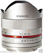 New Rokinon Samsung NX Lens Mount 8mm f/2.8 Series 2 UMC Fisheye Manual Focus SL