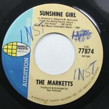 Rock Promo 45 The Marketts - Sunshine Girl / Sun Power On World Pacific
