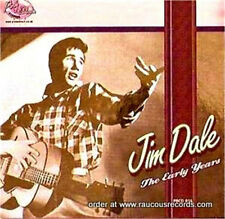 JIM DALE The Early Years CD - 1950s British Rock 'n' Roll - NEW - 32 tracks