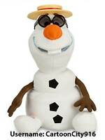 Disney Store Frozen Olaf Singing Talking Plush - 10 1/2'' Plush NEW