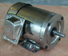 On Sale!!! Gator Stainless Steel AC Motor, 1/2HP, 3600RPM, 56C, Footed, TEFC